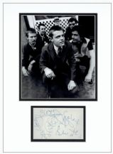 Madness Autograph Signed Display